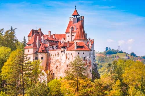 Amazing Castle Of Transylvania