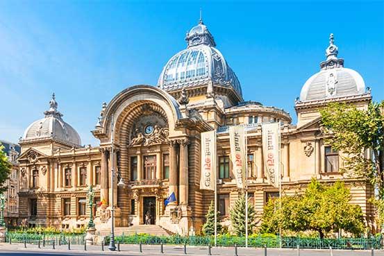 Bucharest-CEC-Palace