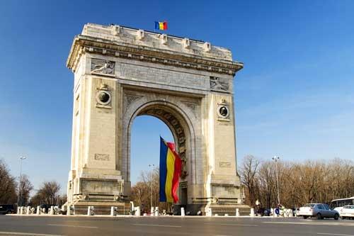 Grand Bucharest City Tour Triumphal-Arch-Bucharest