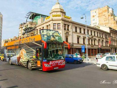 Bucharest Hop-on Hop-off Sightseeing Bus