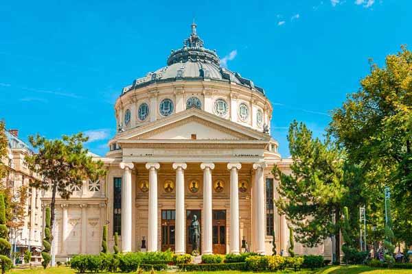 Romanian-Athenaeum-building-Bucharest